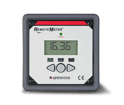 Morningstar Corporation Morningstar RM-1 Remote Meter