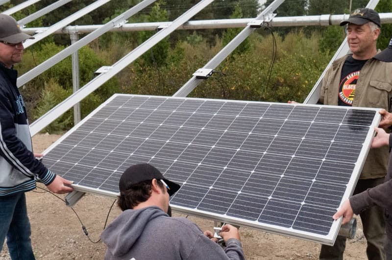 Solar Panel Racking For Roof And Ground Mount Solar Wholesale Solar
