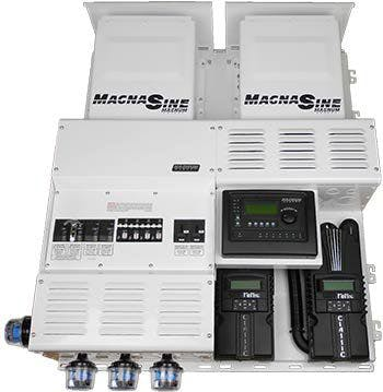 MS4448PAE Dual Magnum w/ 2 Classic 150s Power Center