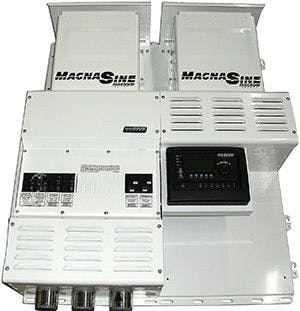 Magnum Dual MS4024PAE w/ no Charge Controller Power Center
