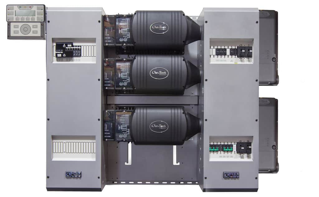 Outback Power FP3 VFXR3648A-300 FM100 FLEXpower THREE Power Center