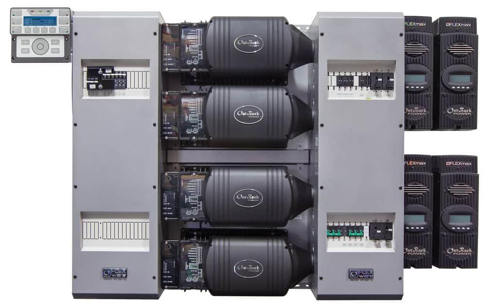 Outback Power FP4 VFXR3648A-01 w/ FM80 FLEXpower FOUR Power Center