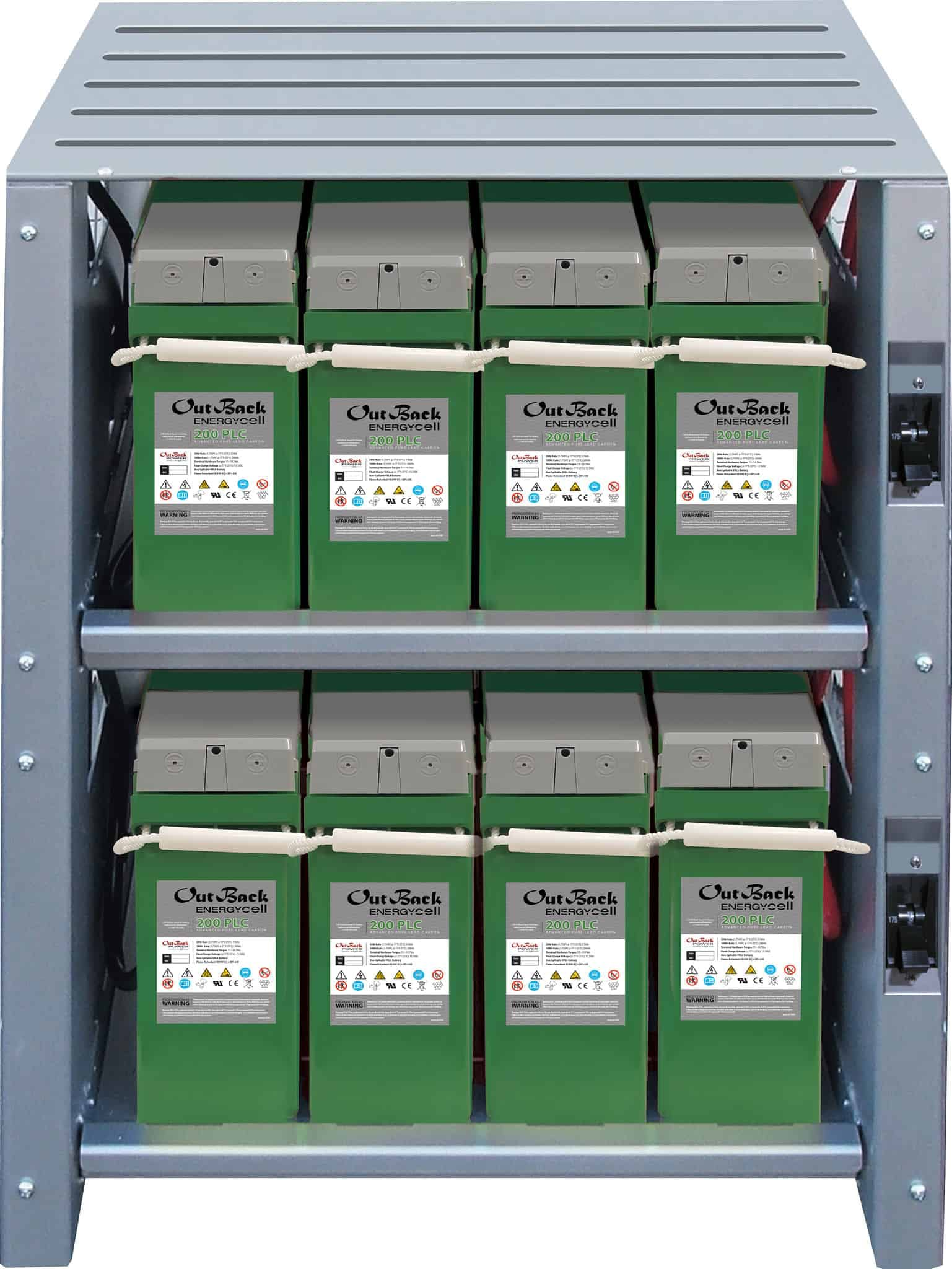 Outback Power IBR-2-48-175 Indoor Enclosure for up to 8 EnergyCell Batteries