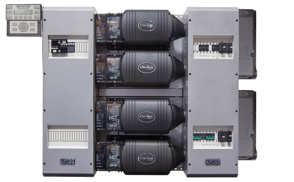 Outback Power FP4 FXR3048A-300, FM100 FLEXpower FOUR Power Center