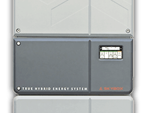 Best solar inverter for grid-tie systems with energy storage capacity: Outback Skybox