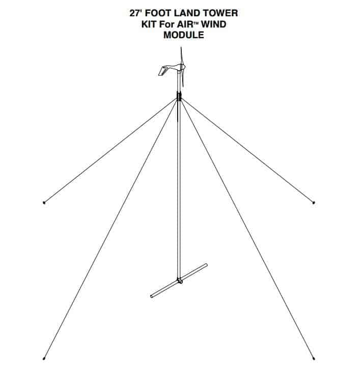 Primus Windpower 27' Air Tower Kit