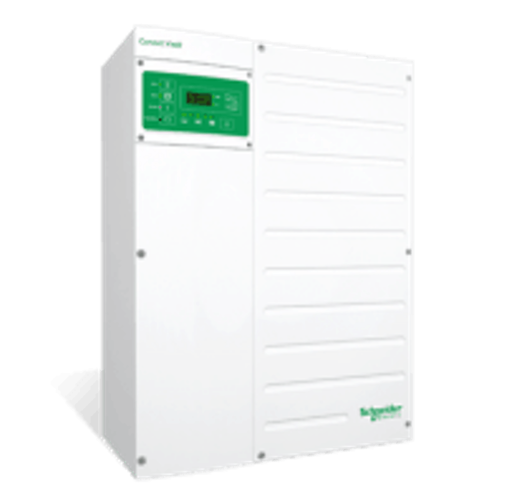 Best off-grid inverter for large-scale applications: Schneider Conext XW+