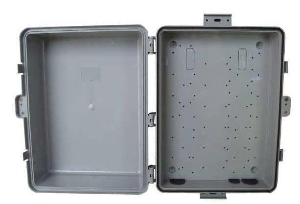Solarland SLENC-PL-14105 Polycarbonate Outdoor Enclosure, NEMA 3R/IP54
