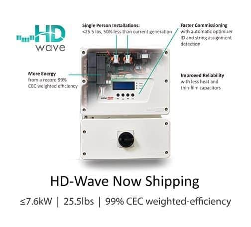 SolarEdge SE3800H HD-Wave Inverter