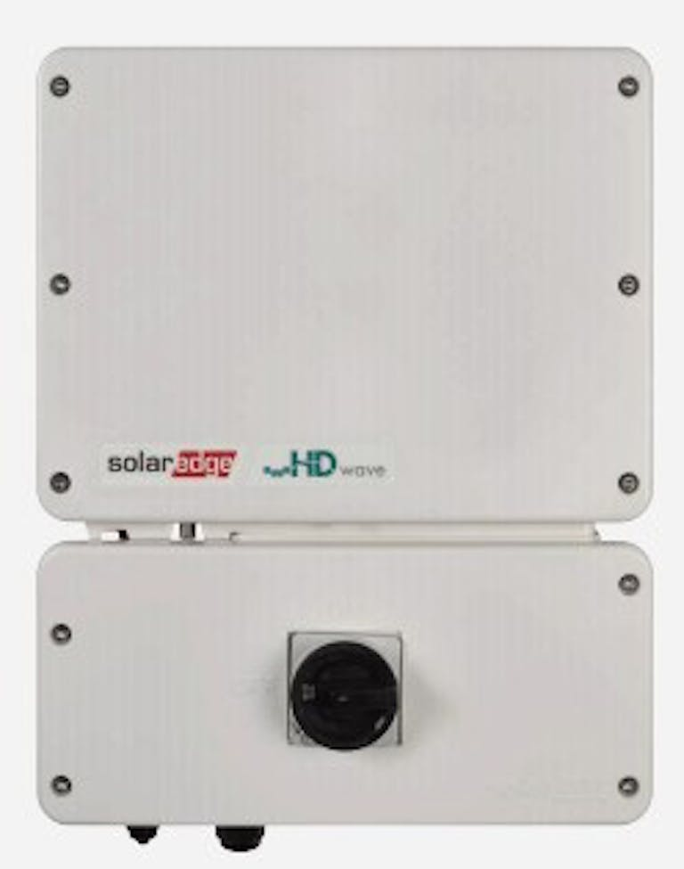 Best string inverter w/optimizers: SolarEdge HD-Wave