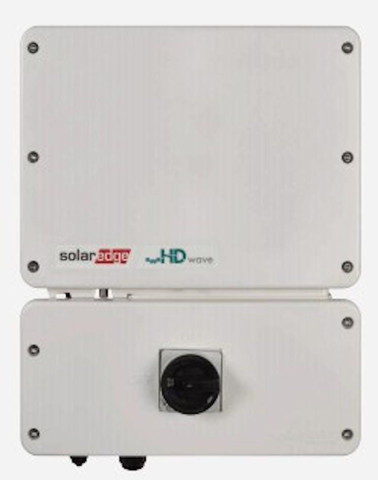 Best string inverter w/optimizers: SolarEdge HD-Wave