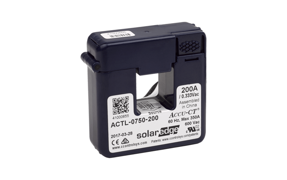 SolarEdge Single 200A Current Transformer (CT) - SE-ACT0750-200NA-1