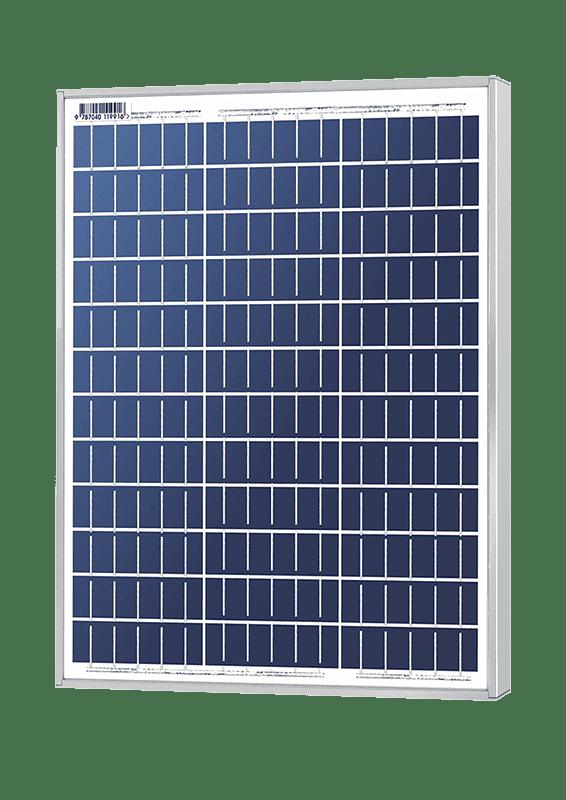 Solarland SLP045-12 C1D2 Silver Poly 12 Volt Solar Panel