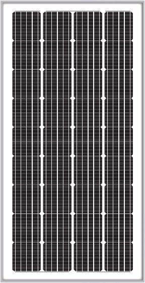 Solarland SLP190S-24 Silver Mono 24 Volt Solar Panel