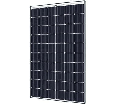 SolarWorld Industries GMBH SW290 Plus Black 5BB Mono German Solar Panel