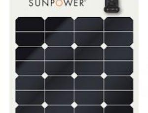 Best solar panels for RVs / mobile applications: Sunpower flex panels