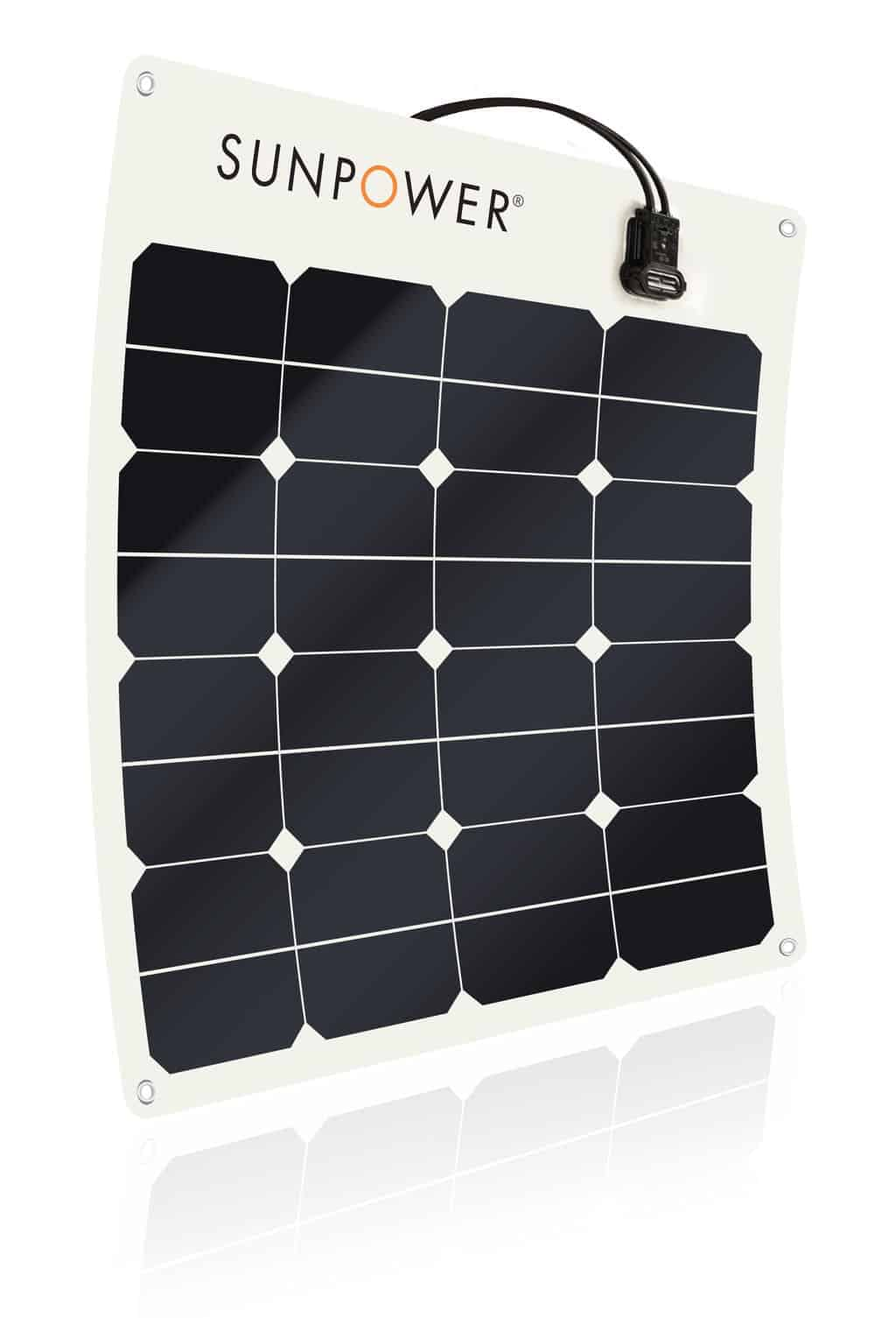 SunPower SPR-E-Flex-50 Flexible 50 watt Solar Panel