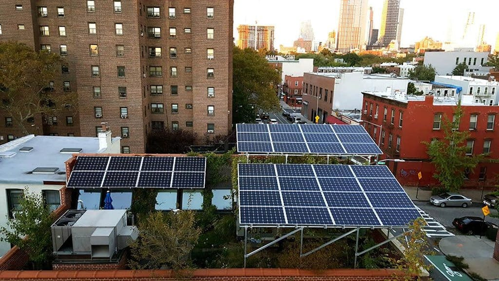 The Brooklyn Microgrid, NYC's renewable community project.